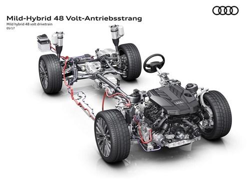 Audi A8 научится отключать двигатель в движении