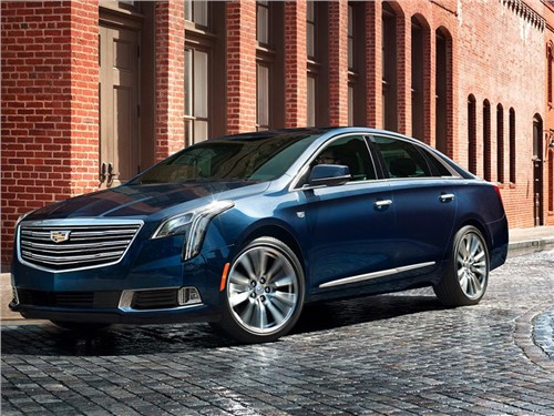 Cadillac представил обновленный седан XTS