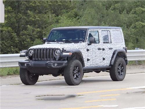 Новость про Jeep Wrangler - Jeep Wrangler