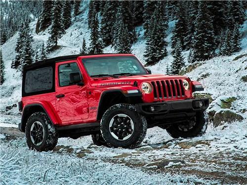 Jeep представил новое поколение Wrangler