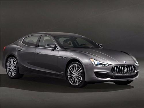 Maserati показала обновленный Ghibli