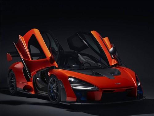 McLaren представил суперкар в честь Айртона Сенны