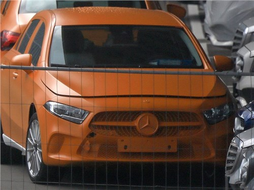 Новый Mercedes-Benz A-класса: первые фото без камуфляжа