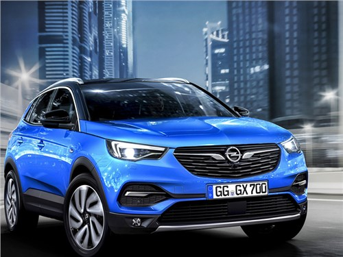 Новость про Opel - Opel Grandland X