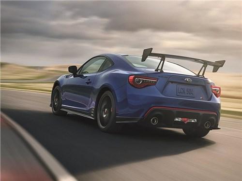 Subaru подготовила трековый вариант купе BRZ