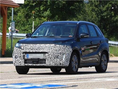 Suzuki начала тесты обновленной Vitara