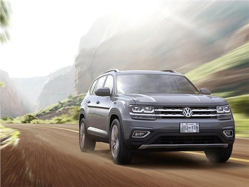 Названа дата появления большого кроссовера Volkswagen в России