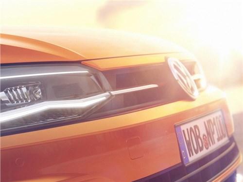 Volkswagen показал кусочек нового Polo