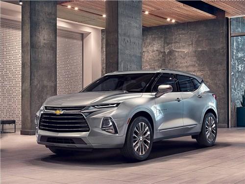 Chevrolet показал новый Blazer. Появится ли он у нас?
