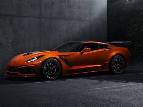 Chevrolet представил самый крутой Corvette в истории