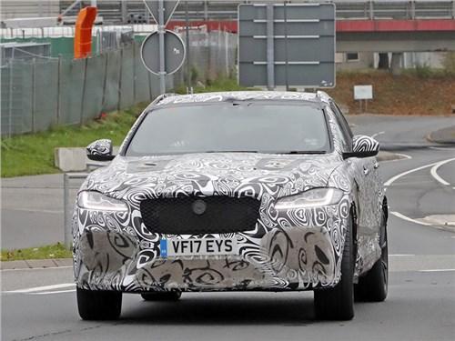 Самый мощный Jaguar F-Pace представят завтра