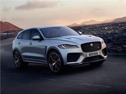 Новость про Jaguar F-Pace - Jaguar ответил Mercedes-AMG GLC 63