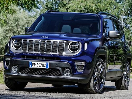 Новость про Jeep Renegade - Jeep представил обновленный Renegade