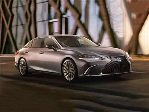 Lexus рассекретил новый ES