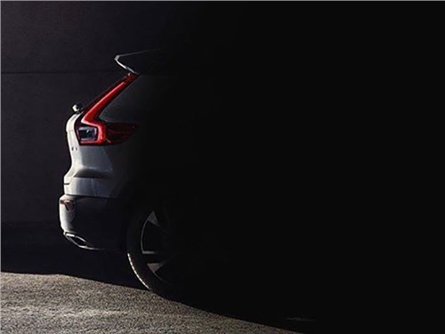 Опубликовано первое изображение Volvo XC40