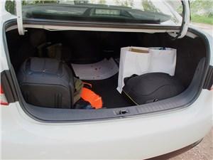 Nissan Almera 2014 багажное отделение