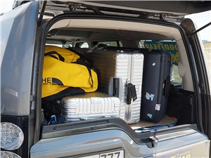 Land Rover Discovery 2014 багажное отделение