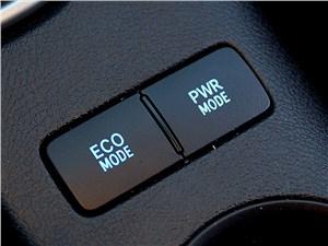 Toyota HiLux 2016 выбор режимов