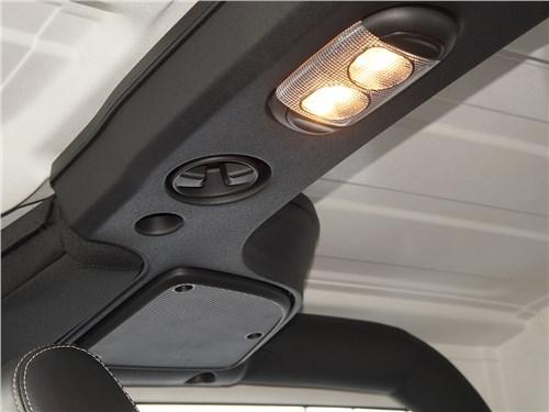Предпросмотр jeep wrangler 2007 динамики аудиосистемы и плафон освещения салона