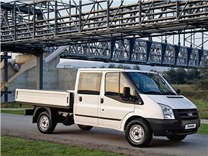 Предпросмотр ford tranzit 2006 шасси с двухрядной кабиной