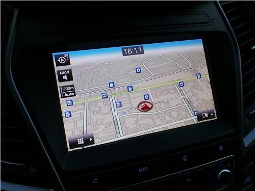 Hyundai Santa Fe 2015 монитор