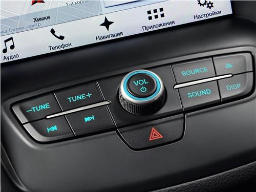 Ford Kuga 2017 управление мультимедиасистемой
