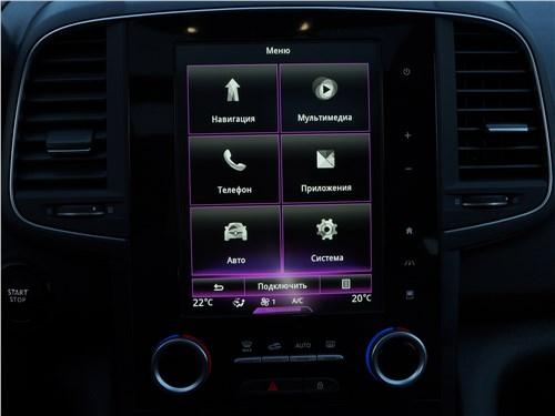 Renault Koleos 2017 приборная панель