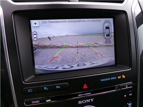 Предпросмотр ford explorer 2018 монитор