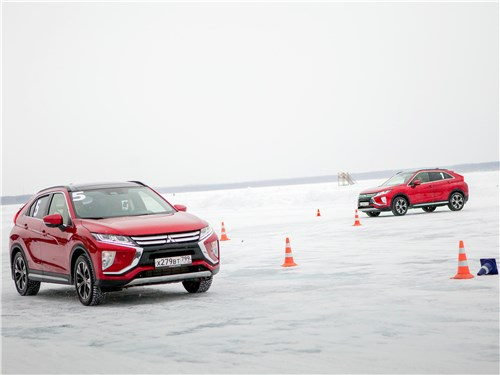 Mitsubishi Eclipse Cross 2018 на трассе