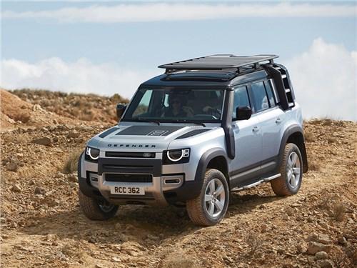 До России добрался новый Land Rover Defender
