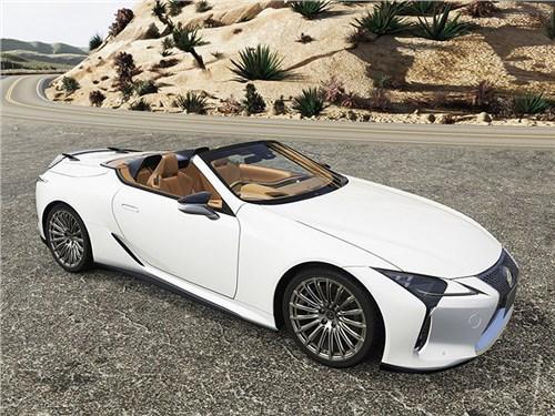 Для Lexus LC вышел тюнинг TRD. Все ради лучшей аэродинамики