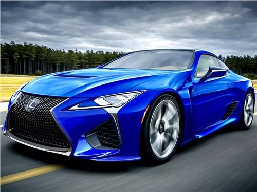 Новость про Lexus LC - Lexus свернул проект суперкупе LC F