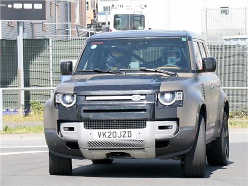 Land Rover готовит самый мощный «Дефендер»