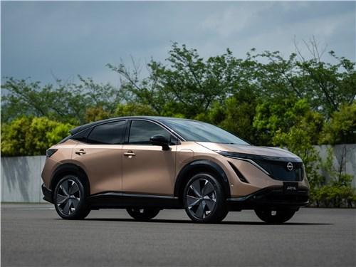 Nissan Ariya (2021) вид спереди