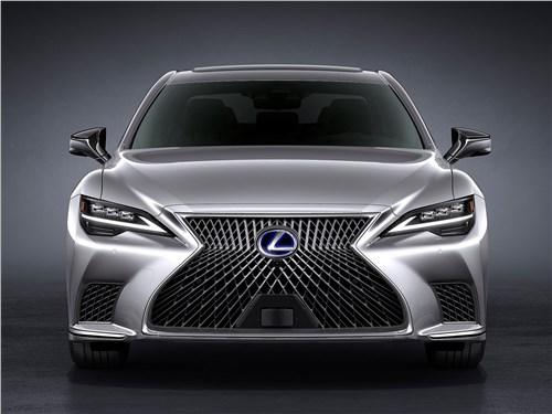 Кто в доме хозяин? LS - Lexus LS (2021) вид спереди
