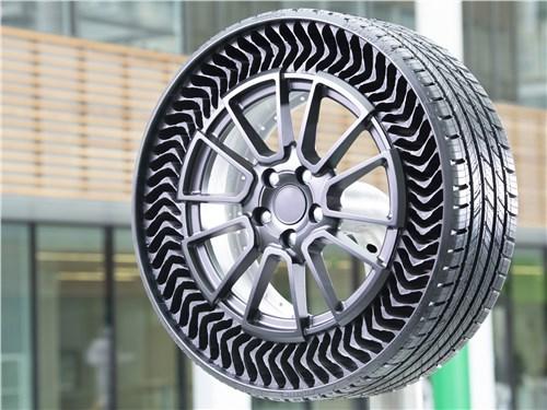 Концерн Michelin обещает, что легковые шины UPTIS появятся на дорогах общего пользования в 2024 году
