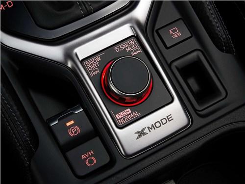 Subaru Forester 2019 управление трансмиссией
