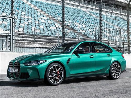 BMW M3 Sedan (2021) вид сбоку