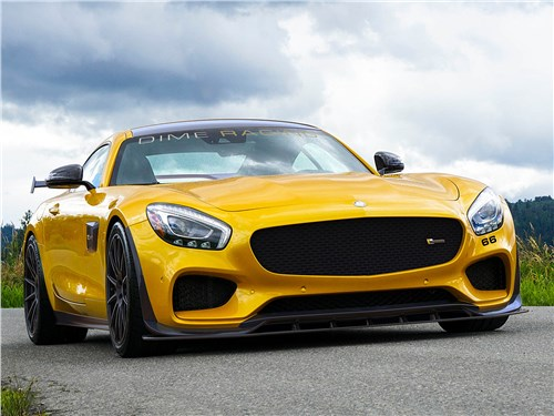 Dime Racing | Mercedes-AMG GT вид спереди