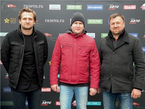 Михаил Курасов, Алексей Бочаров, Сергей Богомил (Isuzu)