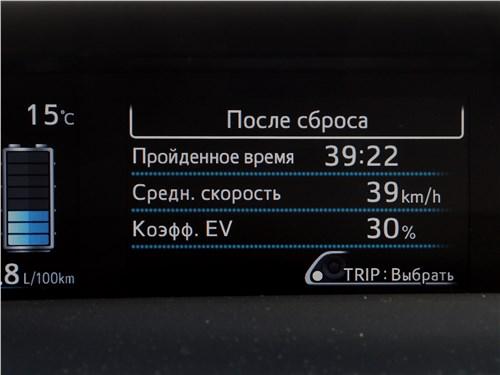 Предпросмотр toyota prius 2016 информационное табло