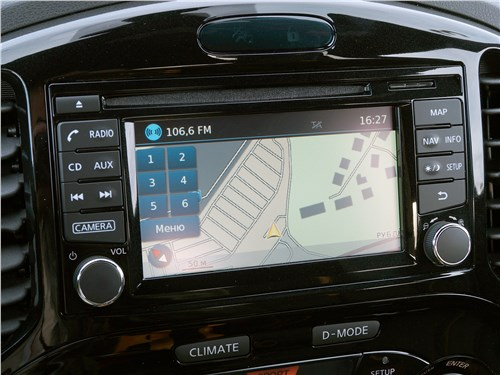 Nissan Juke 2017 центральная консоль