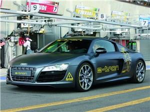 Суперкар Audi R8 e-tron недостаточно хорош, чтобы выставлять его на продажу