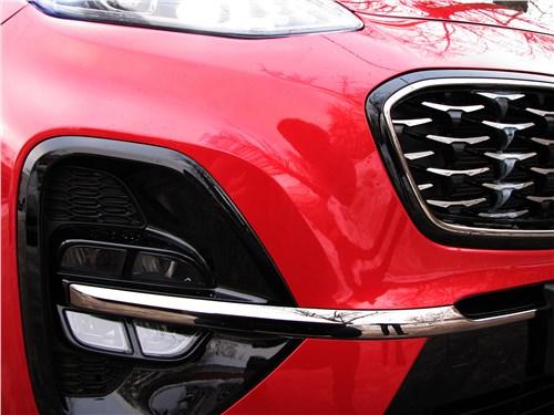 Kia Sportage GT Line 2019 противотуманные фары