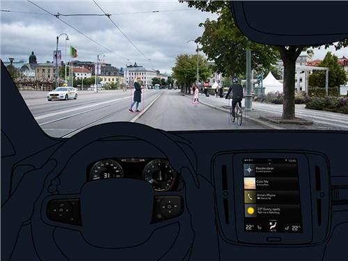 Volvo рассказала об электронных системах XC40