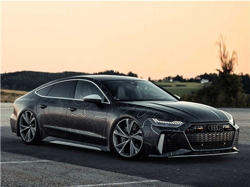 BlackBox-Richter | Audi RS 7 вид спереди