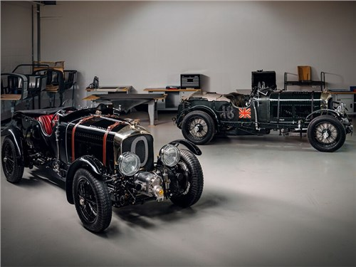 Новость про Bentley - Bentley 4½ Litre Blower