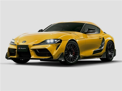 Toyota Supra попала в руки TRD