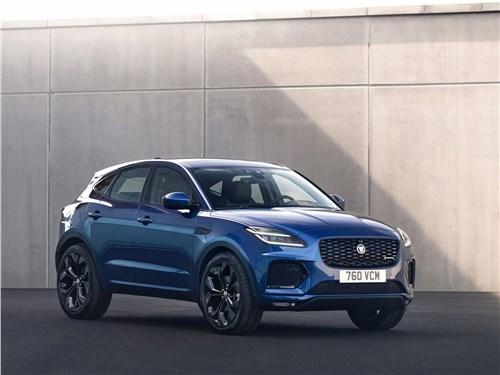 Компактный спорт: Jaguar E-Pace вызывает на бой BMW X2 E-Pace - Jaguar E-Pace (2021) вид спереди