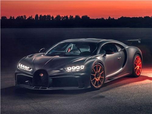 Bugatti Chiron Pur Sport (2021) вид спереди